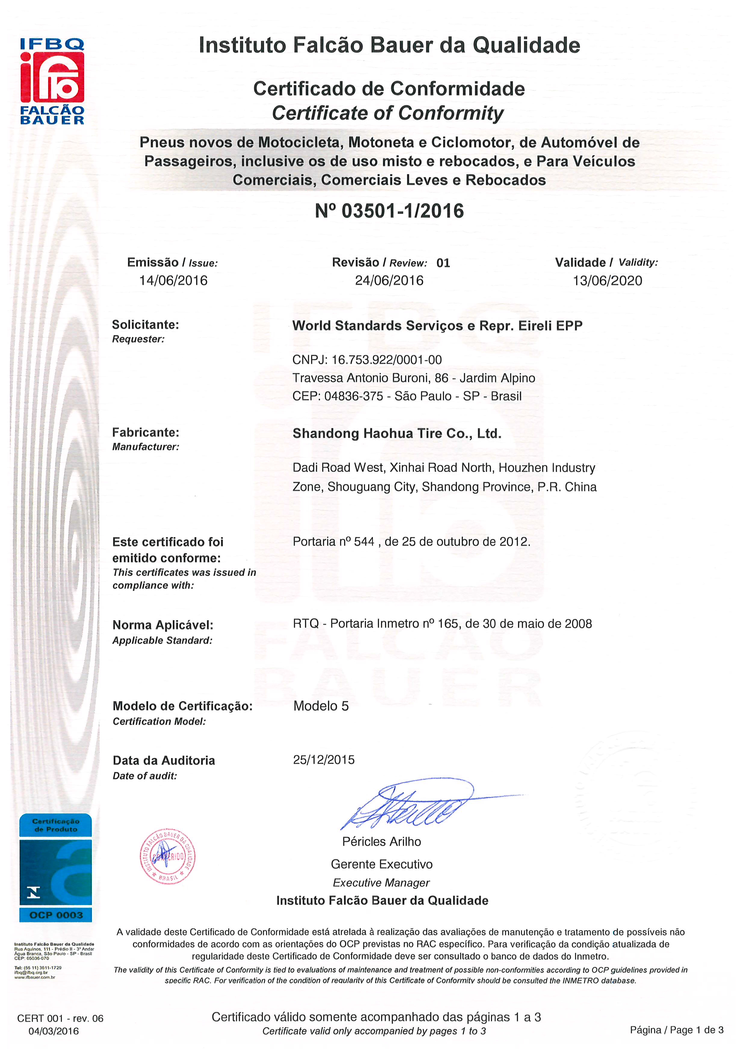 Certificationroyal black tyres produced by shandong haohua tyre dot certification united of america gcc certification gulf countries inmetro brazil xflitez Choice Image